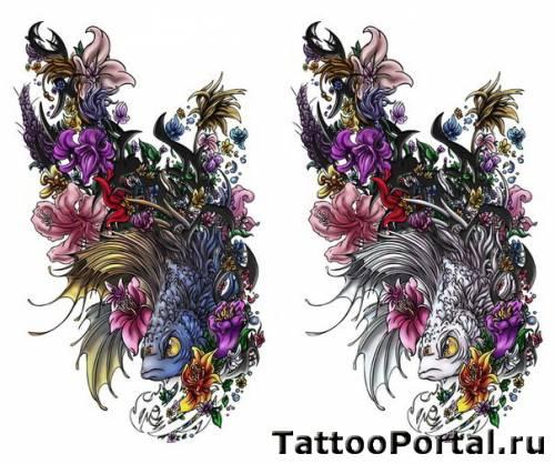 Эскизы татуировок тату цветов эскизы ...: tattoo-pictures.irixpix.ru/view/13098278