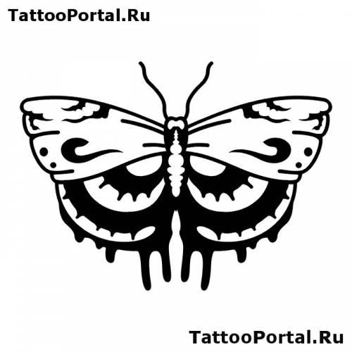 Babochka 016 tattooportal ru